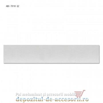 Cant ABS Gri sidefat 22mm x 0,4mm Compatibil cu Egger U763 ST15