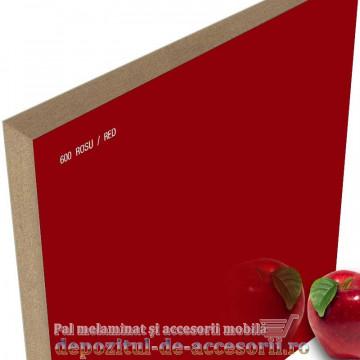 Panou MDF Roșu 600 super lucios AGT high gloss