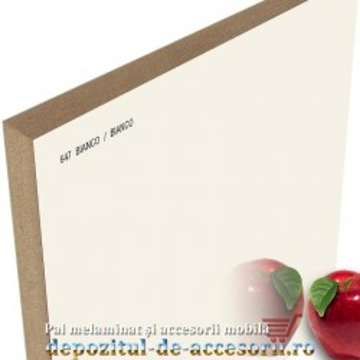 Panou MDF Bianco 647 super lucios AGT high gloss