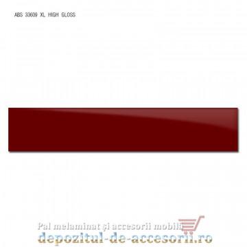 Cant ABS Bordo 22mm x 1mm super lucios (high gloss)