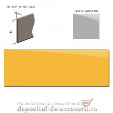 Cant ABSGalben 43mm x 1mm super lucios (High gloss)