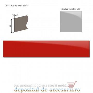 Mai multe despre Cant ABS Roșu 22mm x 1mm super lucios