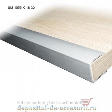 "Aplicare Profil ""U"" aluminiu 18mm lungimea 3m SM 1055 K"