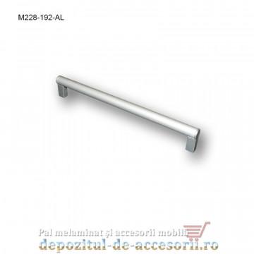 Mâner mobilier Aluminiu M228-192-AL