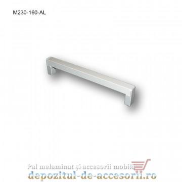 Mâner mobilier Aluminiu M230-160-AL