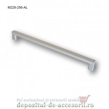 Mâner mobilier Aluminiu M229-256-AL Cebi