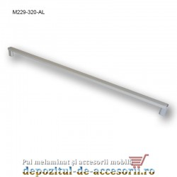 Mâner mobilier Aluminiu M229-320-AL Cebi