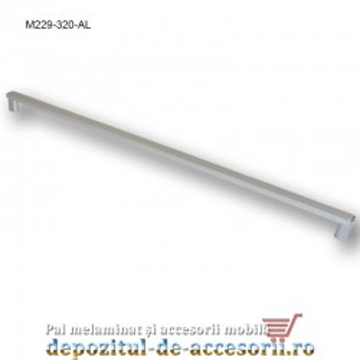 Mâner mobilier Aluminiu M229-416-AL Cebi