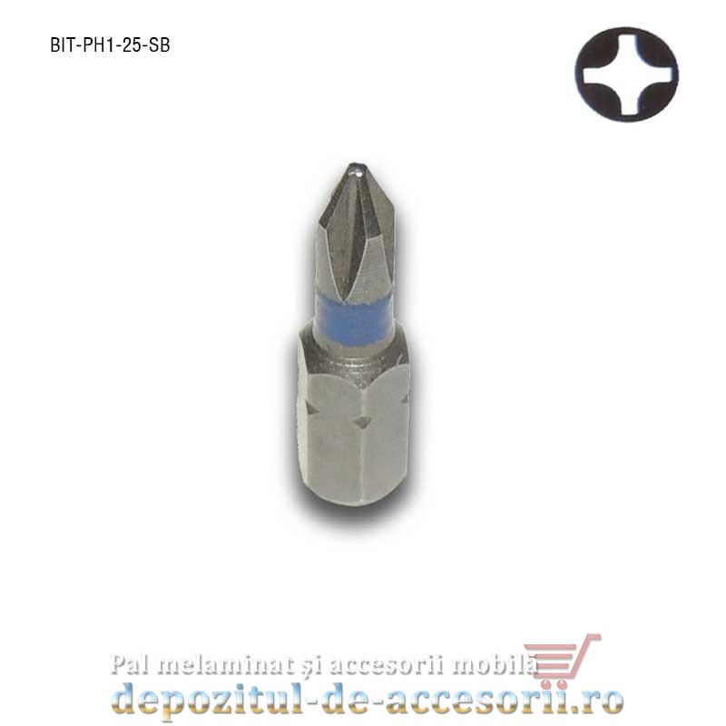 Cap surubelnita in cruce Ph1 25mm BIT Ph1 Stark Bohrer