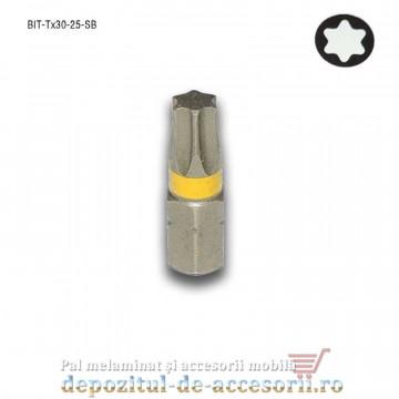 Cap șurubelniță în stea profesional Tx30 25mm BIT Tx30 Stark Bohrer