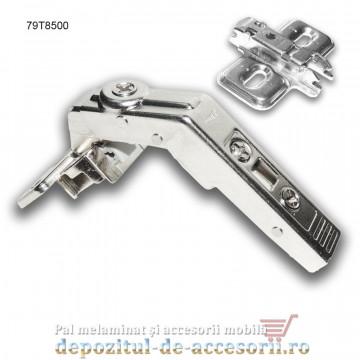 Balama Clip specială corp de colț deschidere 60° Blum 79T8500