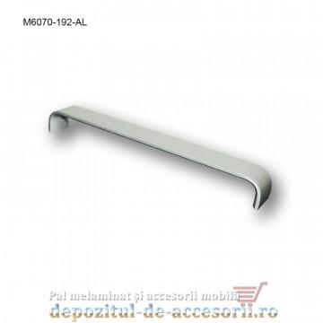 Mâner mobilier Aluminiu M6070-192-AL Satinat