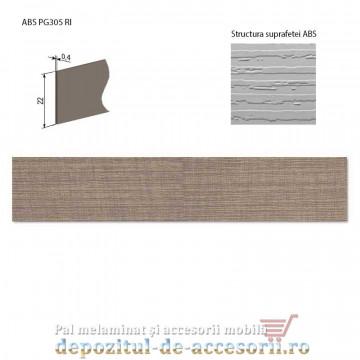 Cant ABS Stejar Perrier inchis 22mm x 0,4mm pentru A830 Kastamonu