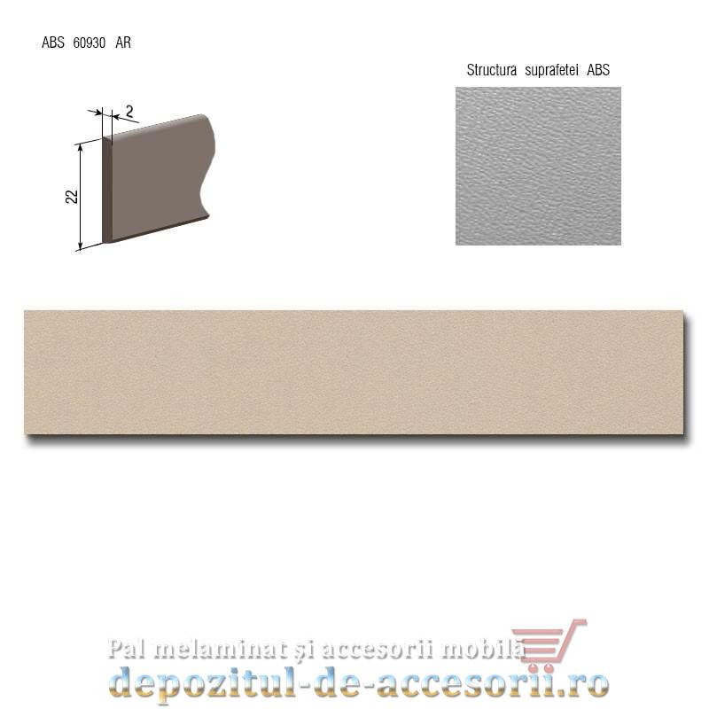 Cant ABS Capuccino 22mm x 2mm pentru pal melaminat D126 PS14 Kastamonu