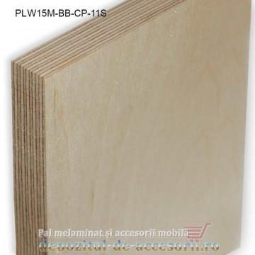 Placaj Mesteacan stratificat 2500x1250x15mm BB/CP