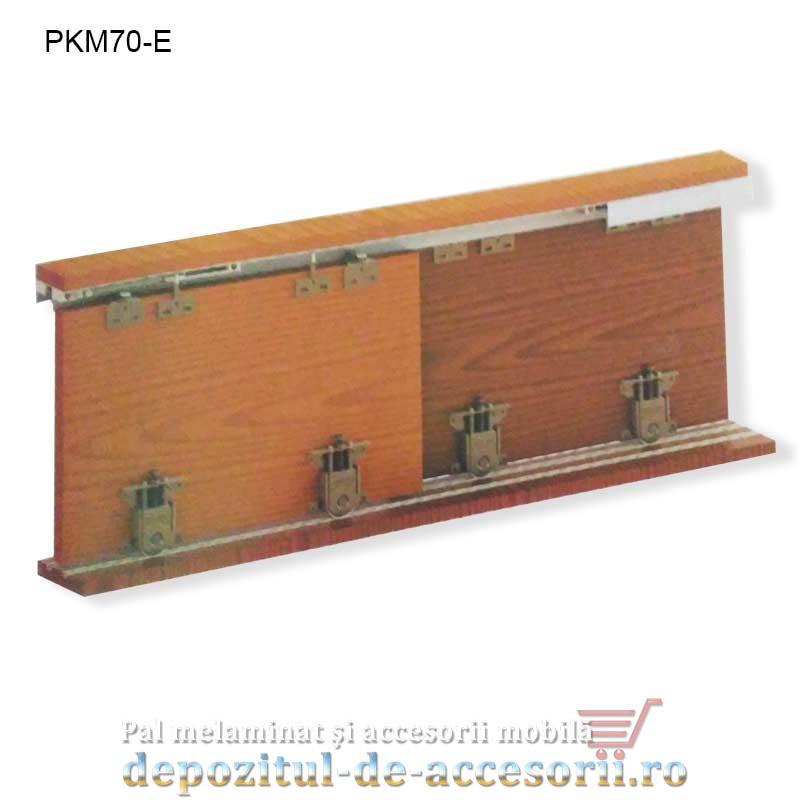 Sistem glisare PKM 81-SC pentru uși dressing cu soft close