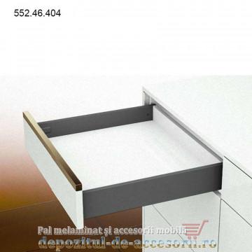 Mai multe despre Sertar 450mm tip Tandembox H 89mm extragere totală amortizare Häfele