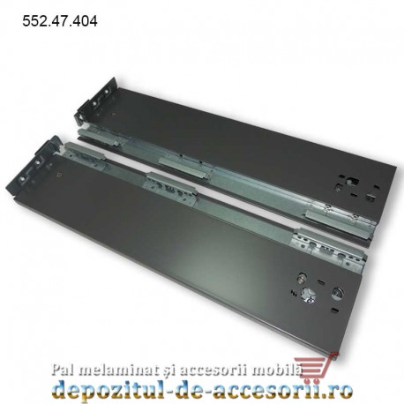 Sertar 450mm tip Tandembox H 121mm extragere totală amortizare Häfele