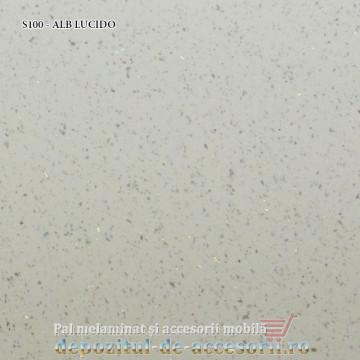 Blat bucătărie ALB LUCIDO S100 38x600x4200 Ricci Italia