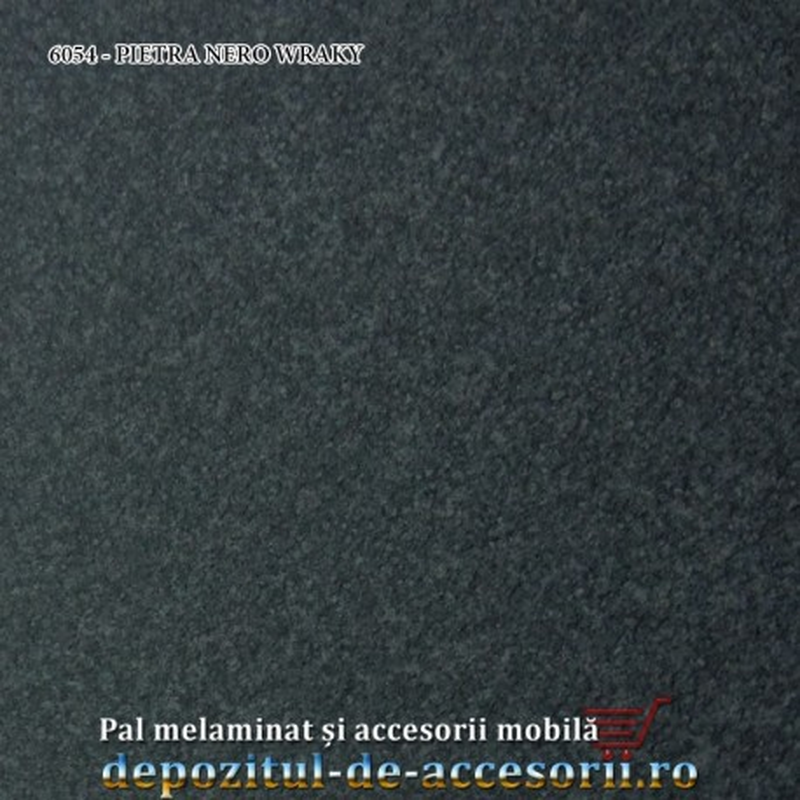 Blat de masa PIETRA NERO WRAKY 6054 38x800x4200 Ricci Italia