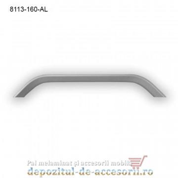 Maner mobilier Aluminiu M8113-160-AL Satinat
