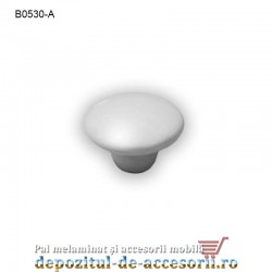 Buton ceramic alb B0530-A Ø35mm