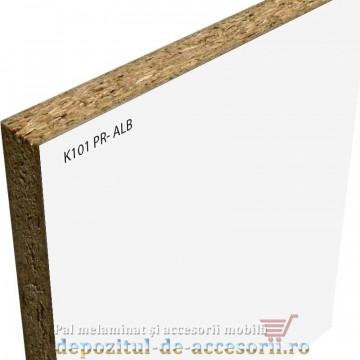 PAL Melaminat Alb striat K101 PR Krono