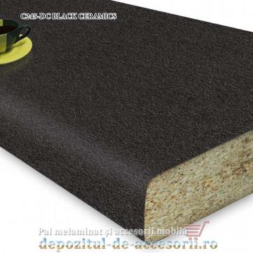 Blat bucatarie BLACK CERAMICS C245-DC ceramic 38x600x4100 Krono Swiss