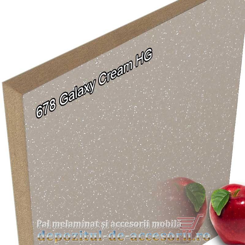 Panou MDF Galaxy Cream super lucios 678 AGT HG