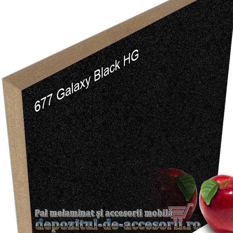 Panou MDF Galaxy Black super lucios 677 AGT HG