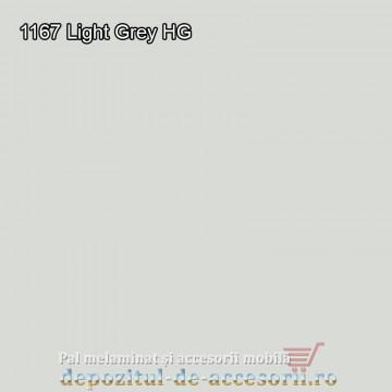 Panou MDF 1167 Gri deschis super lucios Arkopa high gloss