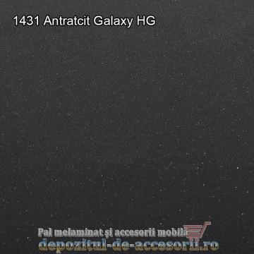 Panou MDF 1431 Antracit Galaxy super lucios Arkopa high gloss