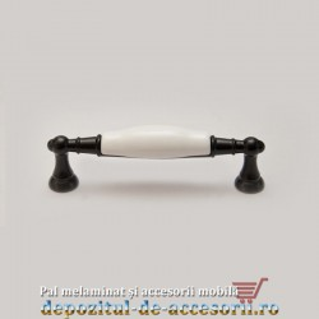 Mai multe despre Mâner mobilier CS8939 negru clasic 128mm