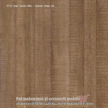 PAL Melaminat Stejar autentic maro H1151-ST10